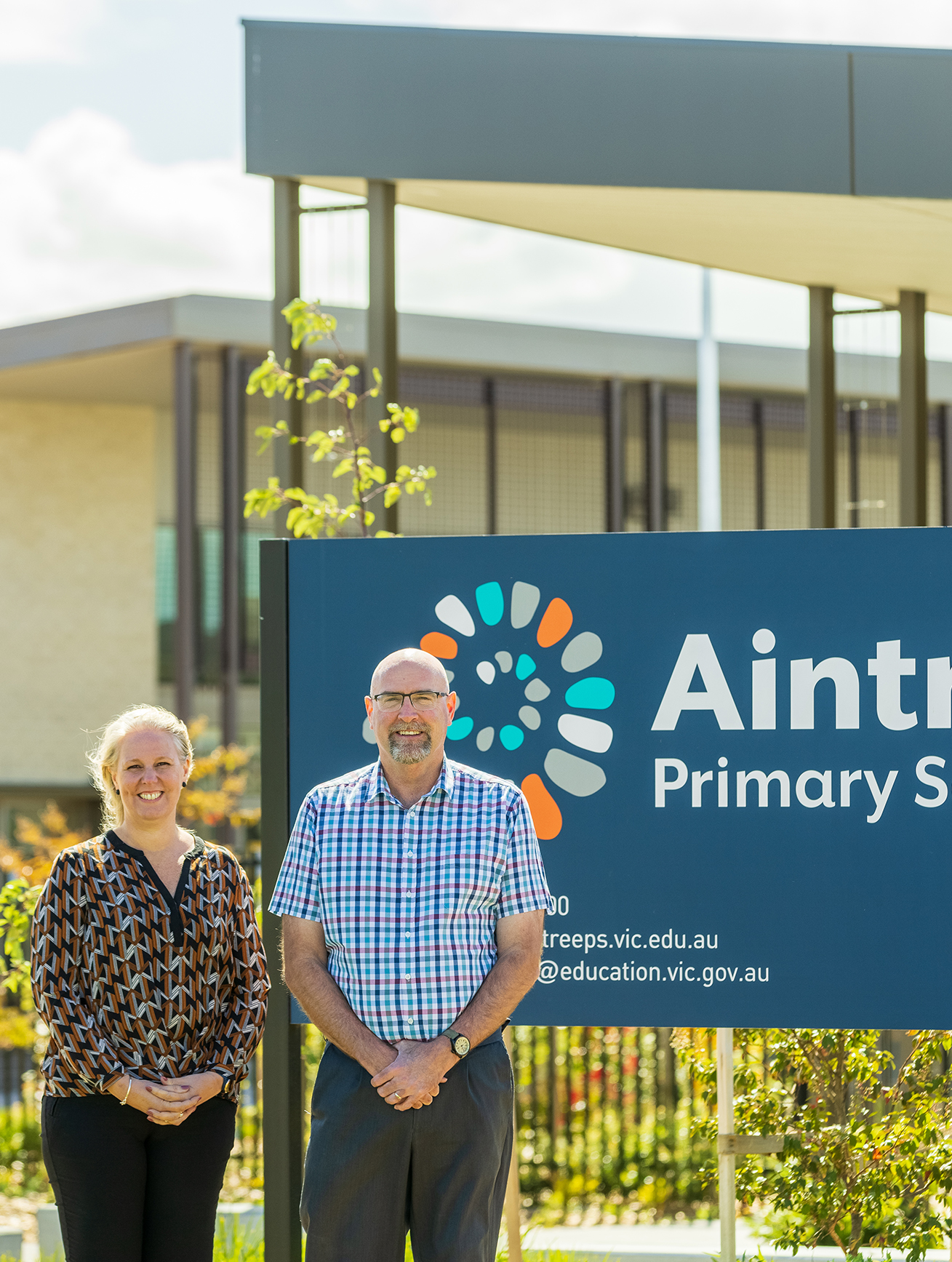 Our first public primary school is now open!